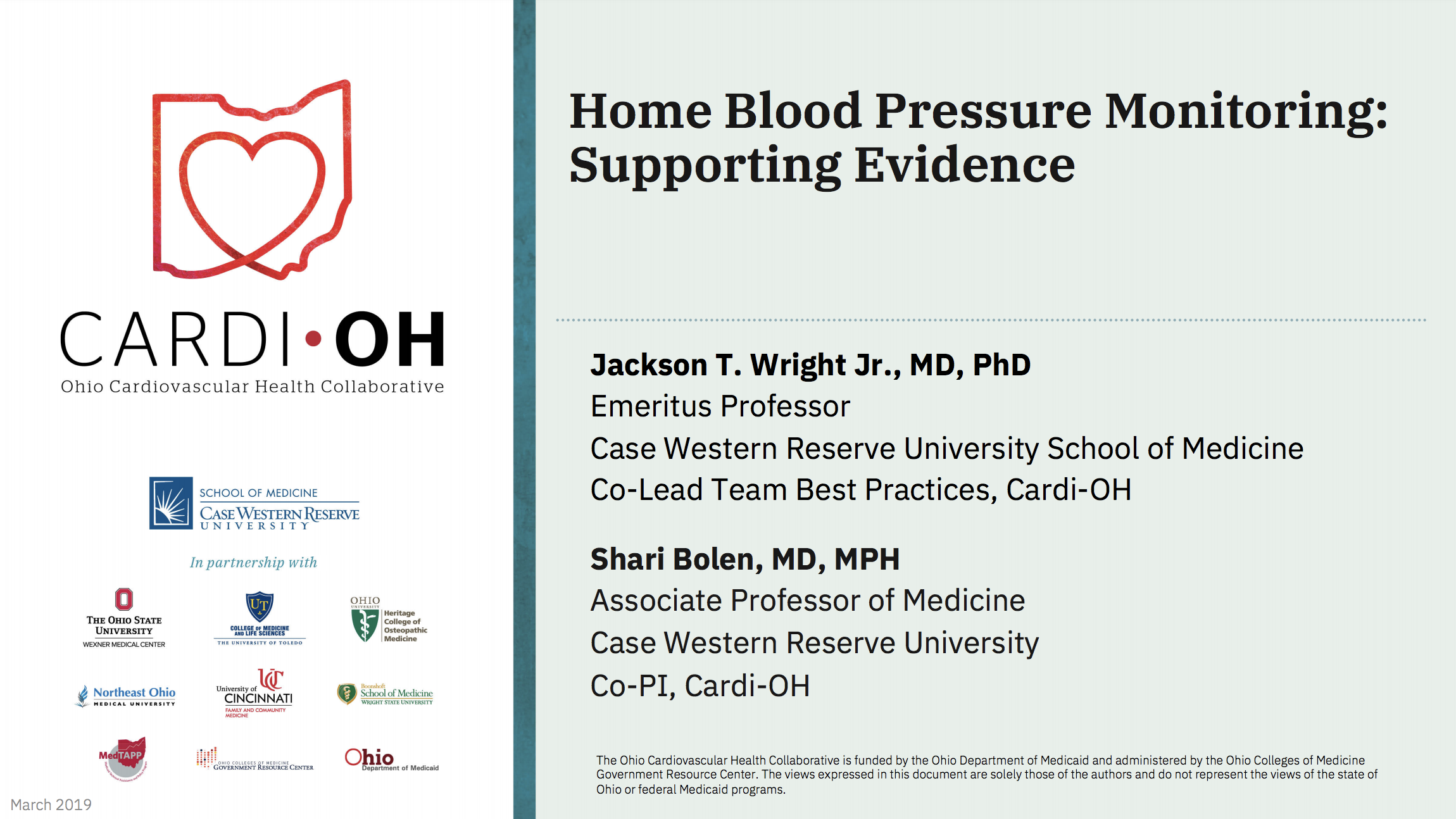 Evidence for Home Blood Pressure Measurement